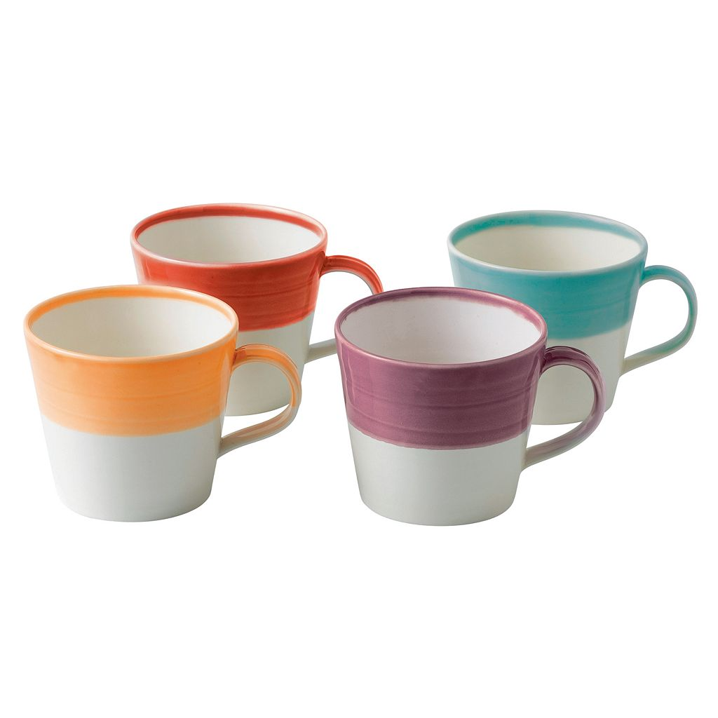 Royal Doulton 1815 Bright 4-pc. Mug Set