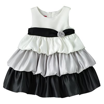 Princess Faith Bubble Tiered Dress - Baby
