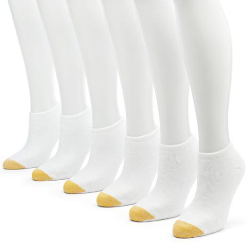 GOLDTOE 6-pk. Cushion Liner No-Show Socks