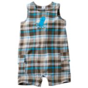 Carter's Plaid Octopus Sunsuit - Baby