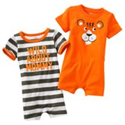 Carter's 2-pk. Tiger Rompers - Baby