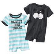 Carter's 2-pk. Daddy's Best Friend and Dog Rompers - Baby
