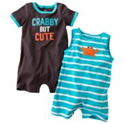 Carter's 2-pk. Crab Rompers - Baby