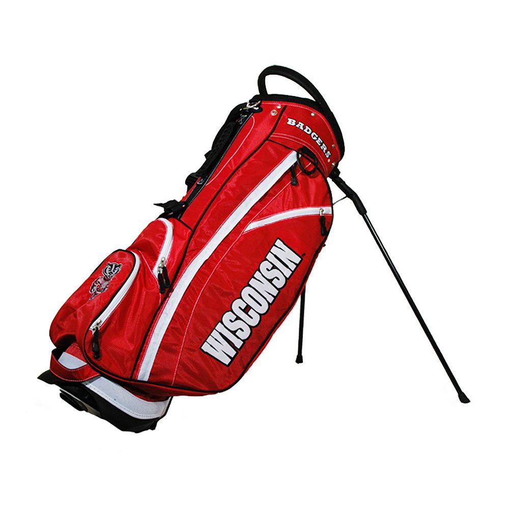 Team Golf Wisconsin Badgers Fairway Stand Bag