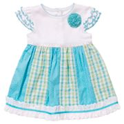 Youngland Seersucker Dress - Infant
