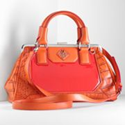 Simply Vera Vera Wang Serena Crocodile Convertible Satchel