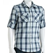 Helix Plaid Button-Down Shirt - Men