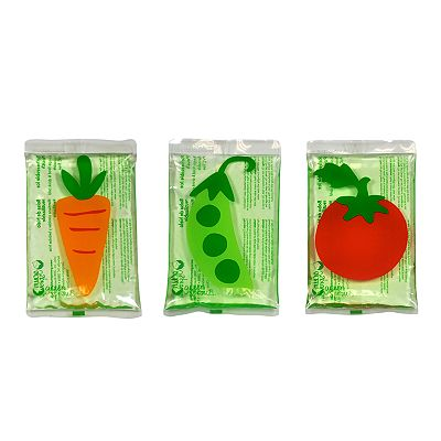 Green Sprouts by i play. 3-pk. Veggie Garden Lunch Chillers