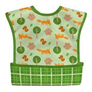 Green Sprouts by i play. Super Duper Waterproof Bib