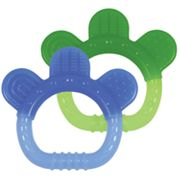 Green Sprouts by i play. 2-pk. Sili Paw Teethers - Boys