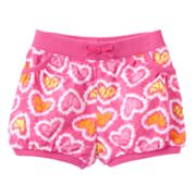 Jumping Beans Tie-Dye Heart Bubble Shorts - Baby