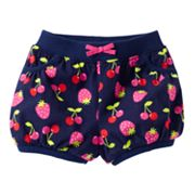 Jumping Beans Cherry Bubble Shorts - Baby