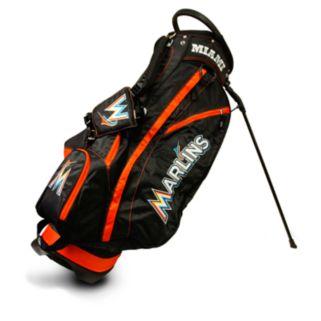 Team Golf Miami Marlins Fairway Stand Bag