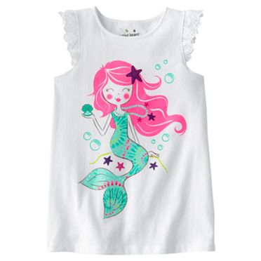 Jumping Beans Mermaid Tank - Girls 4-7