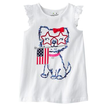 Jumping Beans Patriotic Puppy Tank - Girls 4-7