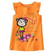Jumping Beans Monkey Tank - Girls 4-7