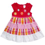 Youngland Check Seersucker Dress - Infant