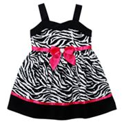 Youngland Zebra Dress - Infant