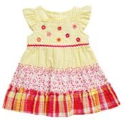 Youngland Floral Seersucker Sundress - Infant