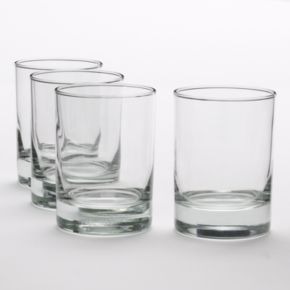 Libbey Midtown 4-pc. Double Old-Fashioned Glass Set