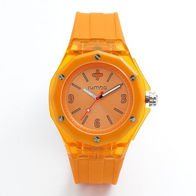 RumbaTime Mulberry Silicone Watch