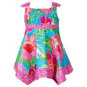 Youngland Floral and Animal Dress - Infant
