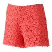 Jennifer Lopez Crochet Shorts