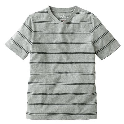 Urban Pipeline Striped V-Neck Tee - Boys 8-20