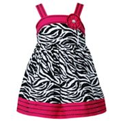 Youngland Zebra Sundress - Infant