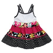 Youngland Crocheted Tiered Sundress - Infant