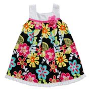Youngland Floral Pleated Sundress - Infant