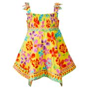 Youngland Floral Woven Sundress - Infant