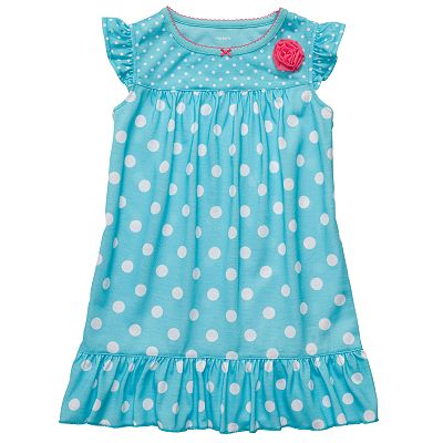 Carter's Polka-Dot Nightgown - Girls