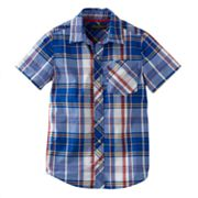 Eddie Bauer Plaid Woven Button-Down Shirt - Boys 8-20