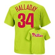Majestic Philadelphia Phillies Roy Halladay Tee - Men