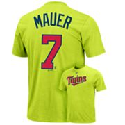 Majestic Minnesota Twins Joe Mauer Tee - Men
