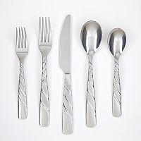 Farberware Wasabi Sand 20-pc. Flatware Set