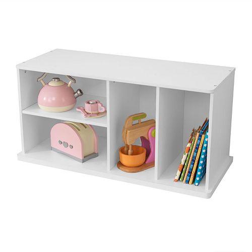 KidKraft Add-On Storage Unit - White