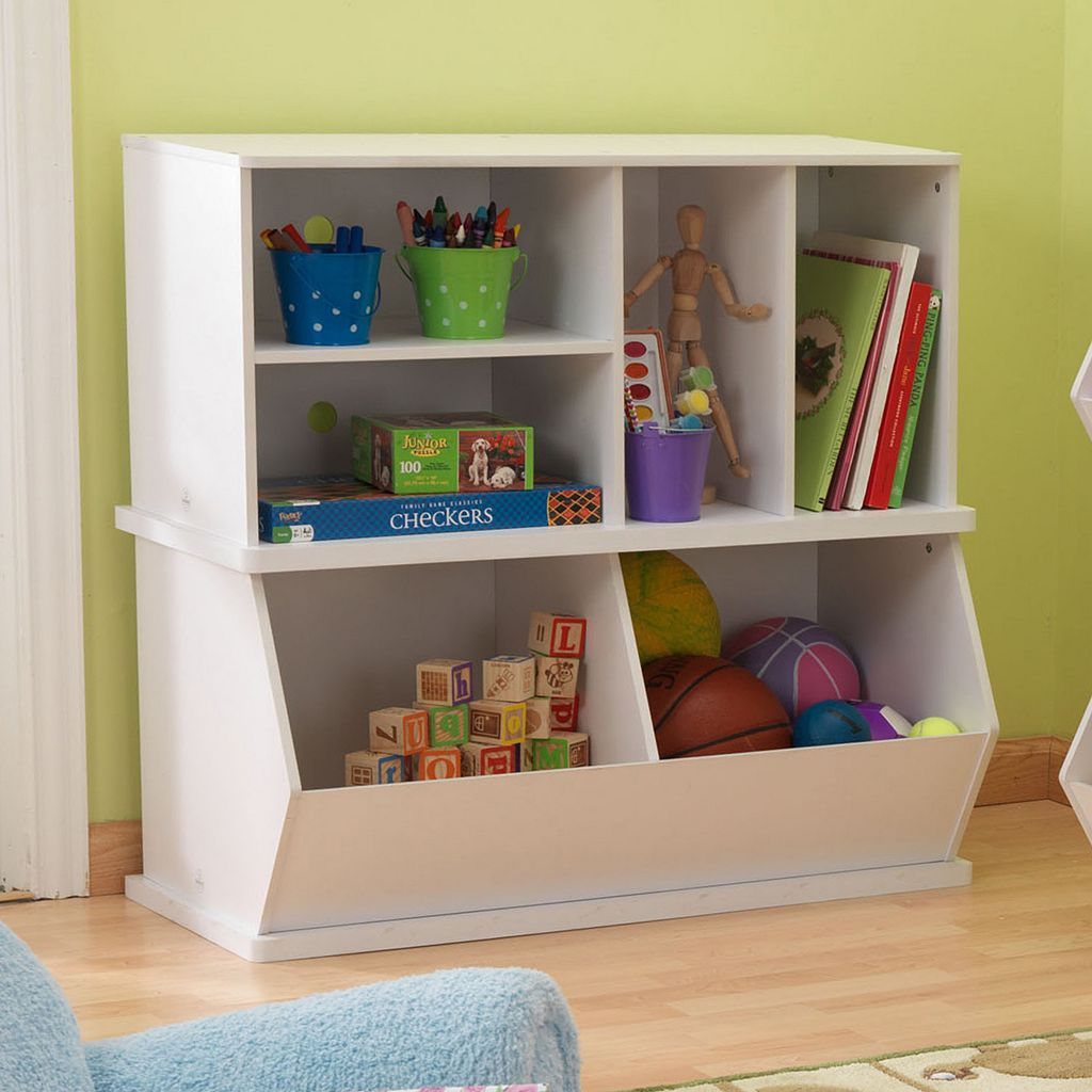 KidKraft Add-On Storage Unit - White