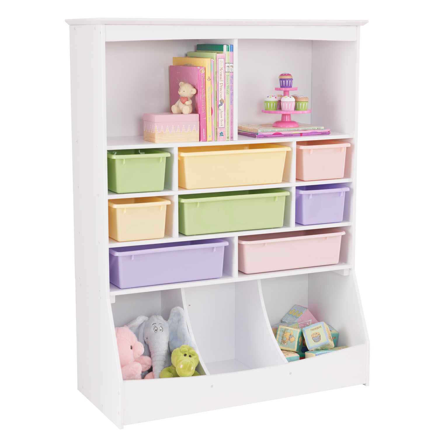 Nice KidKraft Wall Storage Unit   White