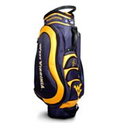 Team Golf West Virginia Mountaineers Medalist Cart Bag