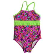 St. Tropez Swimwear One-Piece Butterfly Swimsuit - Girls 4-6x