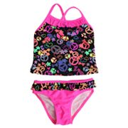 St. Tropez Swimwear Peace 2-pc. Tankini Swimsuit Set - Girls 4-6x