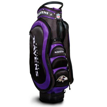 Team Golf Baltimore Ravens Medalist Cart Bag