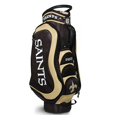 Team Golf New Orleans Saints Medalist Cart Bag