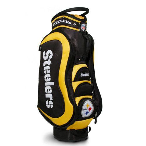 Team Golf Pittsburgh Steelers Medalist Cart Bag