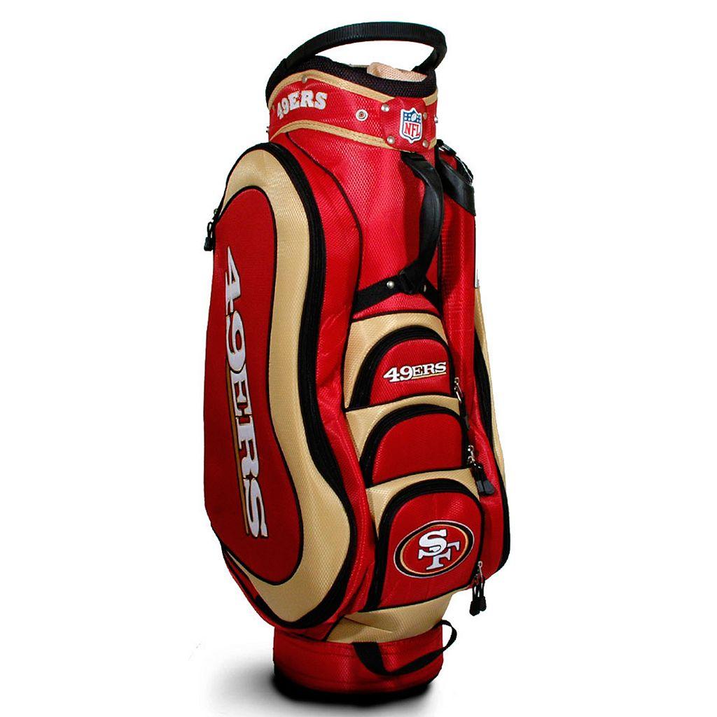 Team Golf San Francisco 49ers Medalist Cart Bag