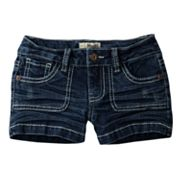 Mudd Heavy Stitch Denim Shorts - Girls 4-6x