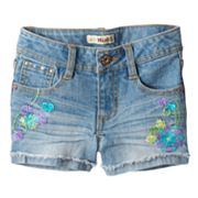 Mudd Butterfly Denim Shorts - Girls 4-6x