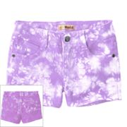 Mudd Tie-Dye Denim Shorts - Girls 4-6x